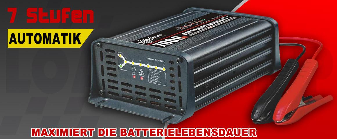 Agm Gel Und Calcium Batterie Ladegerät Automatisch